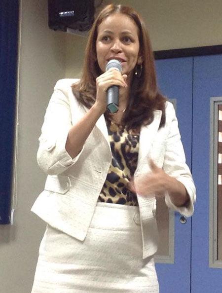 Deputada estadual, Kelly Magalhães (PCdoB)