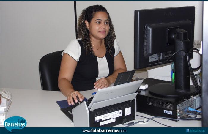 Dra. Maria Emília, advogada do SAJ (Foto: Osmar Ribeiro)
