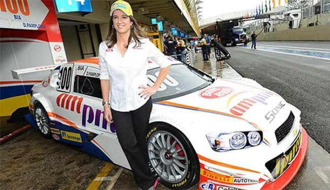 Bia será a primeira mulher da história a disputar a categoria principal da Stock Car