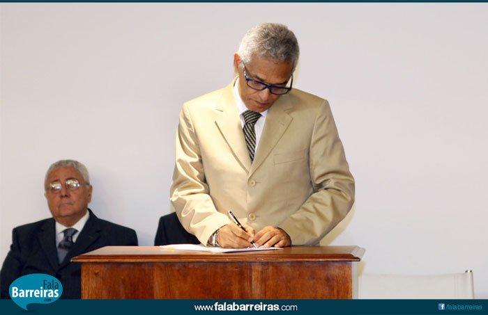 Governador em exercício e presidente do TJ, Eserval Rocha | Foto: Manu Dias