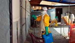 Centro de tratamento contra o ebola de Guiné-Conacri, Hospital de Donka   Foto: Luis Fonseca/Lusa