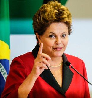 Dilma Rousseff,  candidata do PT   Foto: reprodução