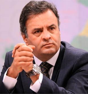 Aécio Neves, candidato do PSDB   Foto: reprodução