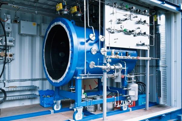 Máquina é capaz de transformar água em combustível | Foto: Reprodução/Sunfire