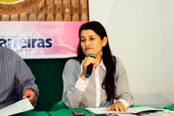 Jusmari Oliveira, ex-prefeita de Barreiras | Foto: www.muraldooeste.com