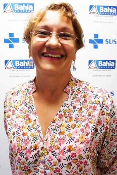 Maria Raquel da Aurora, coordenadora do Núcleo Regional de Saúde do Oeste | Foto: Ascom Sesab