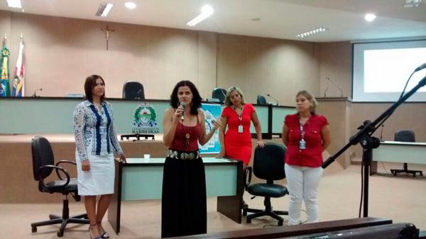 O Seminário foi realizado na Câmara Municipal de Barreiras