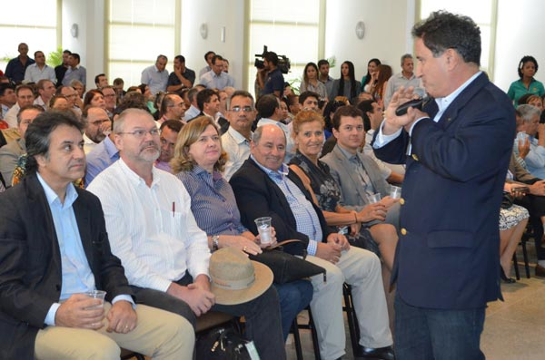 Representantes das entidades agrícolas do Estado participaram do evento   Foto: Virgília Vieira