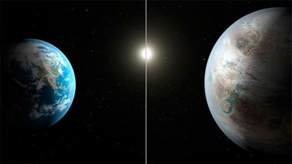 O planeta recém descoberto tem características semelhantes às da Terra | Foto: Divulgação/Nasa