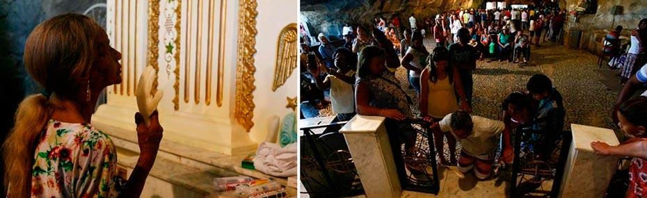 Cidade do oeste abriga grutas consideradas sagradas | Fotos: Gildo Lima / Divulgação