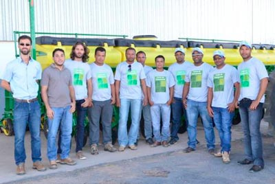O treinamento aconteceu no Centro de Treinamento Parceiros da Tecnologia | Foto: Virgília Vieira