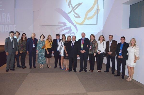 Produtores na cerimônia de abertura do 10º CBA | Foto: Divulgação