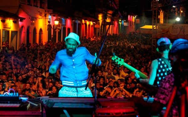 Baiana System na última noite do festival   Foto: Diego Mascarenhas/GovBA