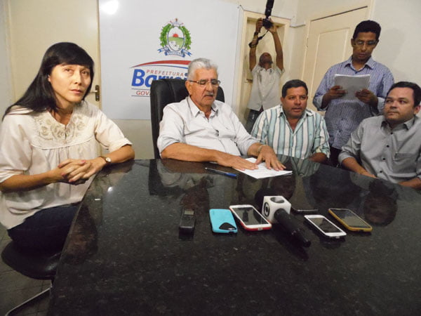 """""""Do jeito que está, vai parar"""", declara o prefeito a respeito do transporte coletivo de Barreiras   Foto: Osmar Ribeiro/Falabarreiras"""