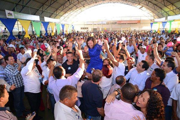 O Ginásio de Esportes Almiro Almeida ficou pequeno | Foto: Divulgação