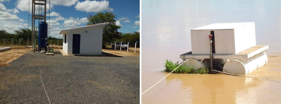 Mais de duas mil pessoas de comunidades rurais de Ibotirama, no Médio São Francisco baiano, são beneficiadas por sistema de abastecimento de água | Fotos: divulgação/Codevasf