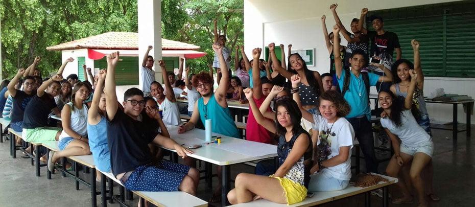 Alunos do IFBA ocupam democratiamente a instiuição | Foto: Arquivo pessoal dos alunos