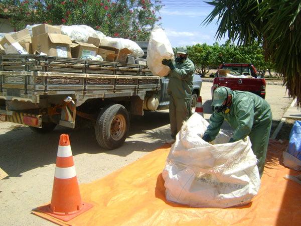 Codevasf incentiva recolhimento de embalagens vazias na Bahia | Foto: Zilton Cezar/Codevasf
