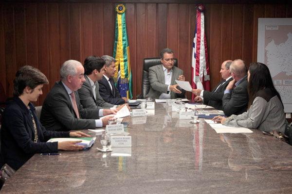 A reunião durou por mais de duas horas   Foto: Mateus Pereira/GOVBA