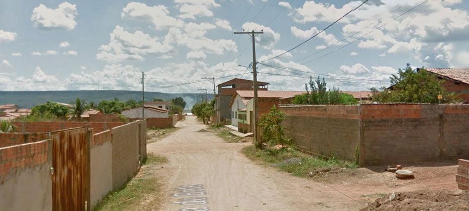 O bairro sofre com a falta de água nas torneiras   Foto: Reprodução Google Maps