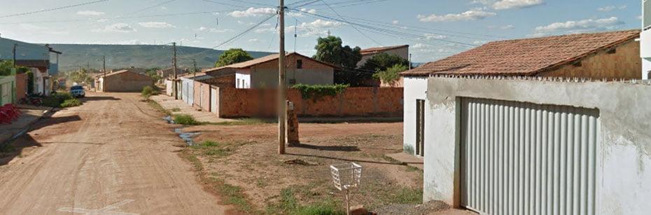 Bairro Novo Horizonte, Barreiras/Bahia : Foto: Reprodução Google Maps