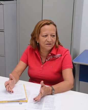 Cátia Alencar, Secretária Municipal de Educação   Foto: Dircom Barreiras