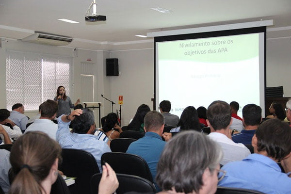 Apresentação Alessandra Chaves APA RJ | Foto: Ascom Aiba