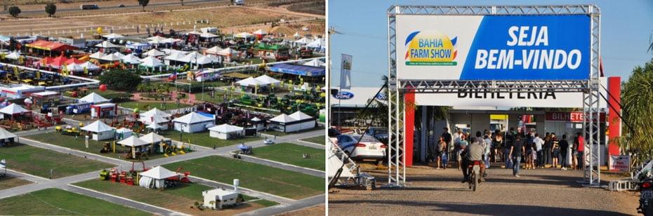 Entrada principal / Vista aérea do parque   Fotos: Divulgação