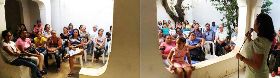 Servidores da saúde buscam ajuda no Sindsemb   Fotos: Osmar Ribeiro/Falabarreiras