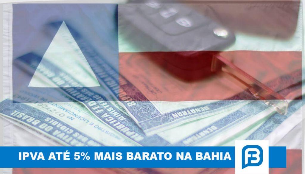 IPVA 2021: Imposto ficará até 5% mais barato para os baianos