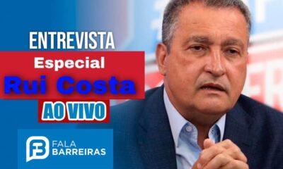 Entrevista com o Governador Rui Costa
