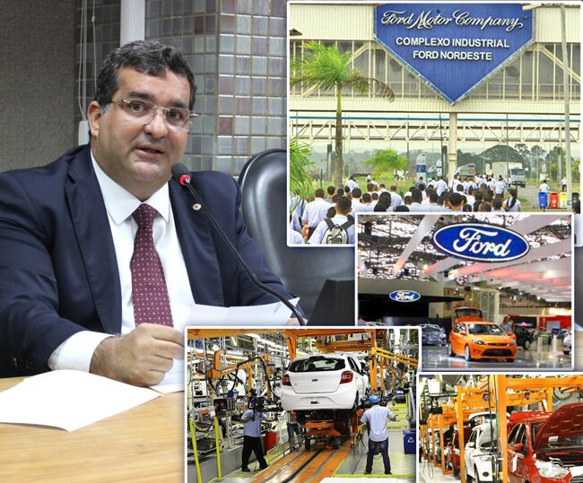 Montadora da Ford na Bahia