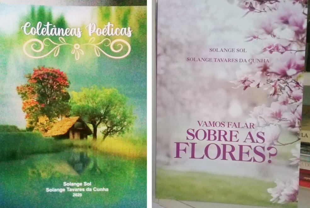 Em Live, Solange Cunha lança livros