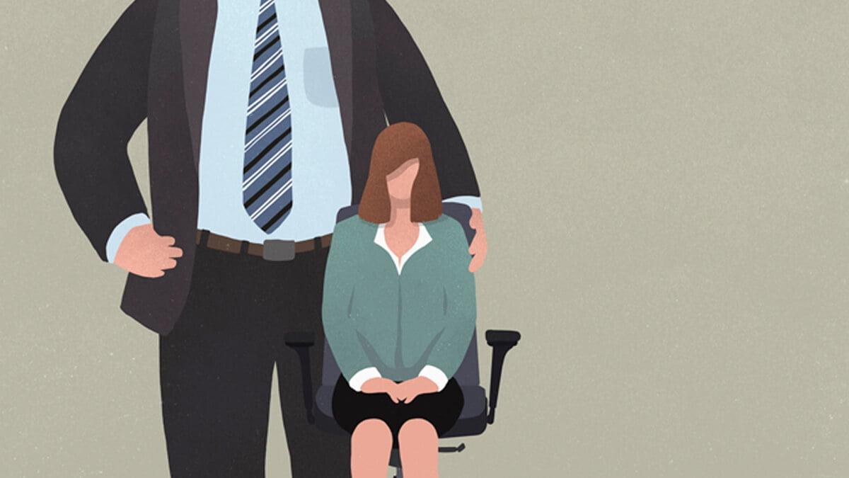 Assediador no ambiente de trabalho