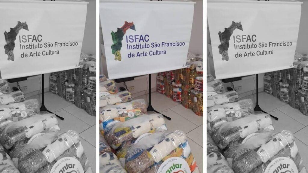 Artistas de Barreiras recebem cestas básicas do Projeto Plantar para Alimentar