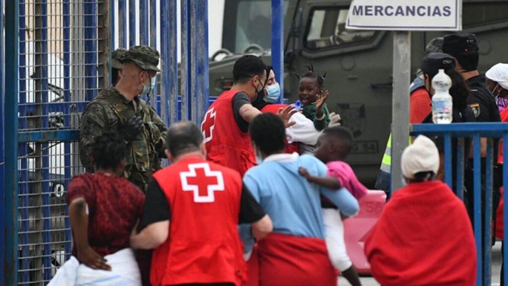 Espanha enfrenta séria crise humanitária com o Marrocos