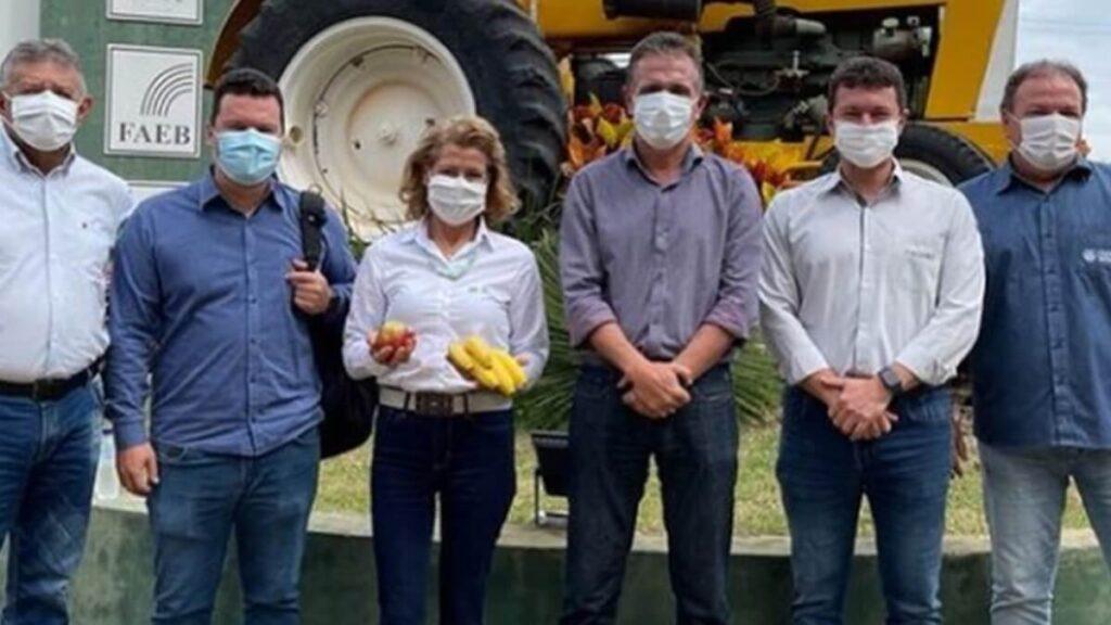 Presidente da Faeb visita Barreiras e discute fortalecimento do agronegócio