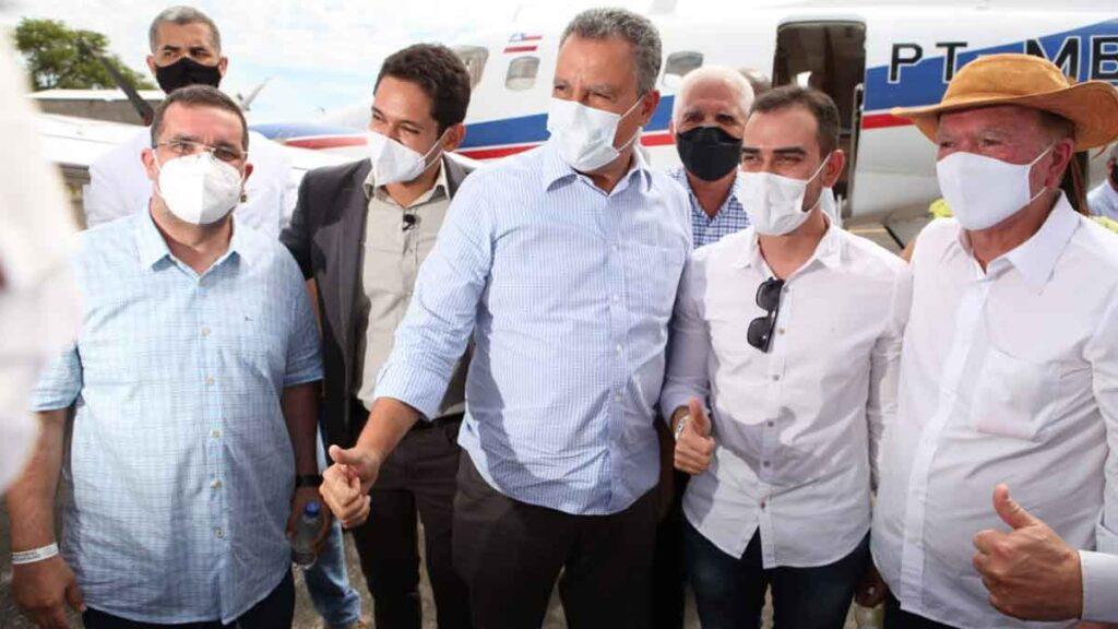 Deputado Antonio Henrique Júnior representa a região oeste em visita do Governador Rui Costa a Ibotirama