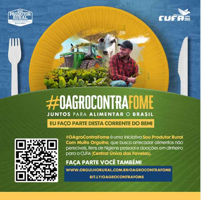 #OAgroContraFome