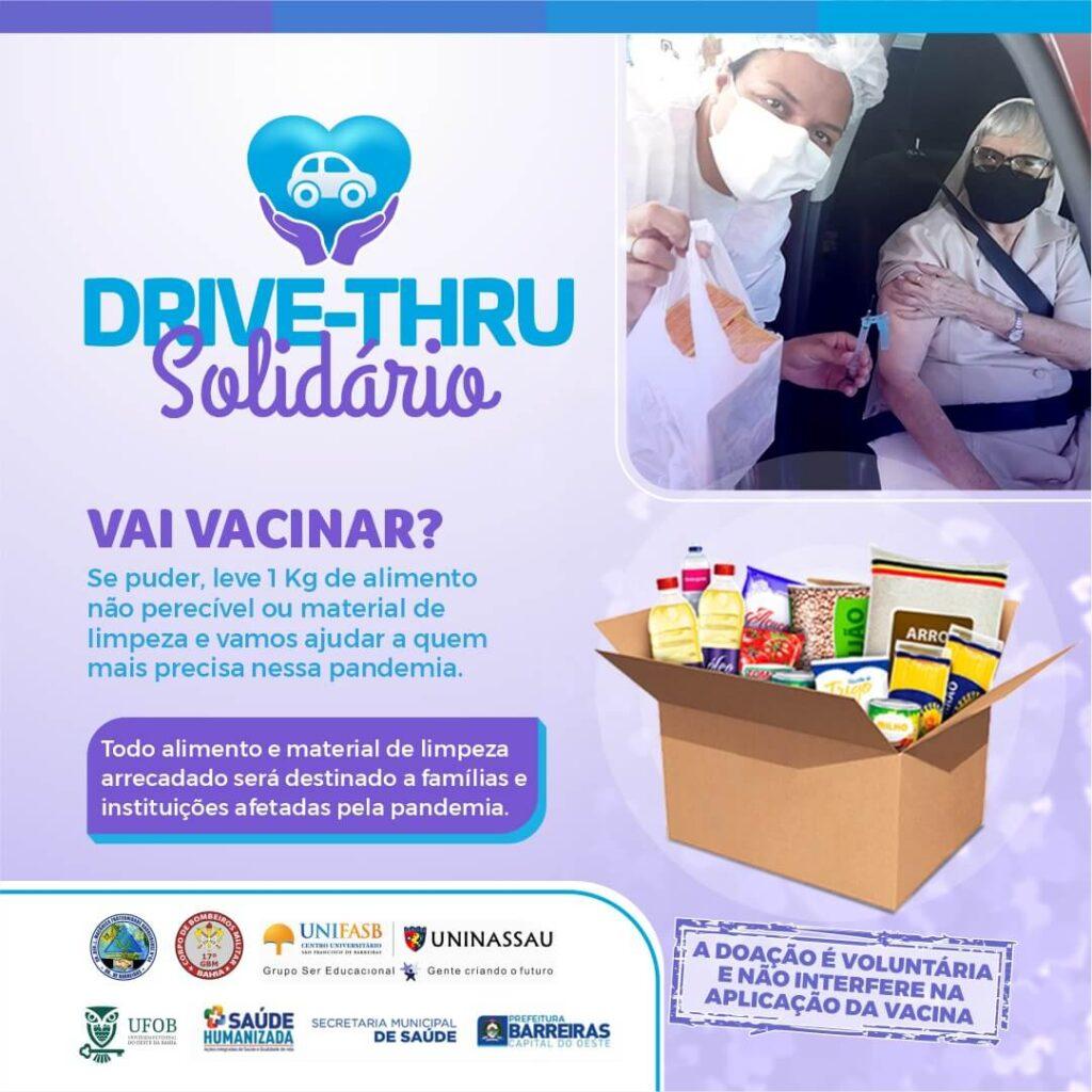 Gestantes e puérperas de Barreiras recebem vacina contra COVID-19 nesta sexta (11)