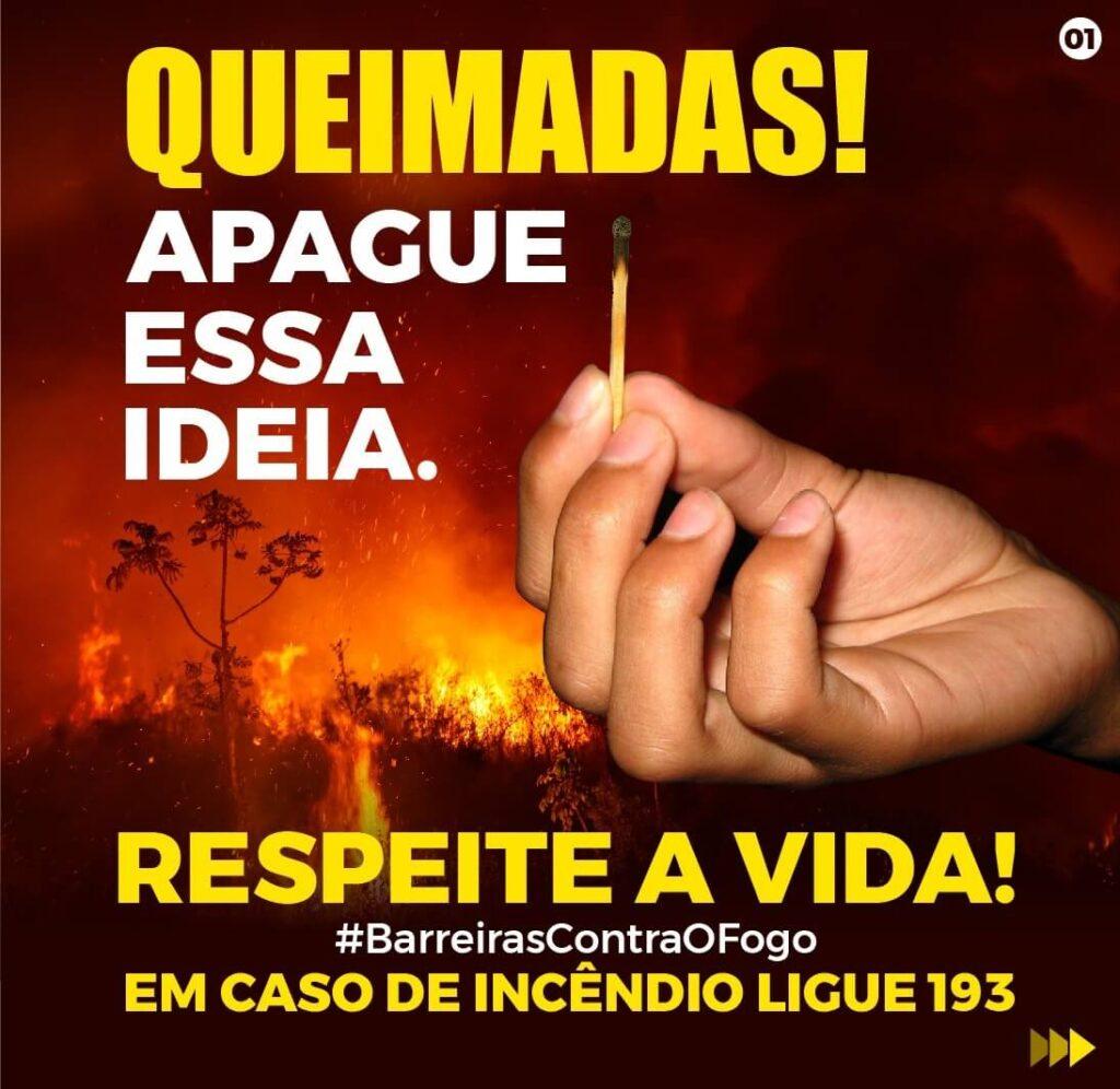 Secretaria de Meio Ambiente de Barreiras lança Campanha de combate às queimadas. Saiba como denunciar!