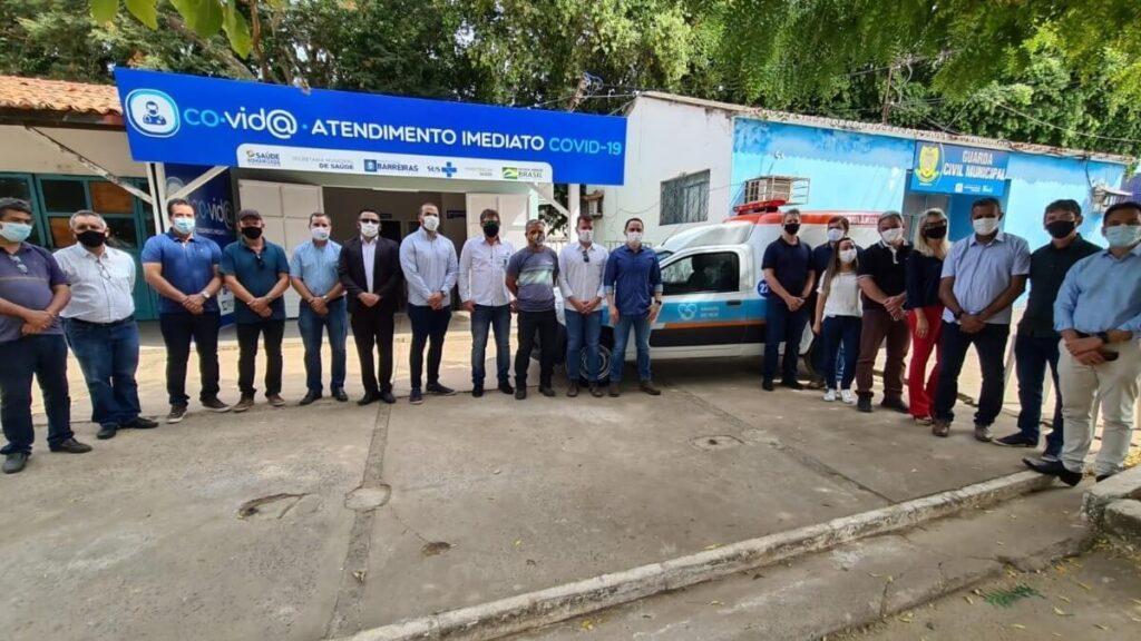 Grupo Amigos do Bem doa ambulância para a rede municipal de saúde de Barreiras