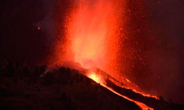 Vulcão em La Palma
