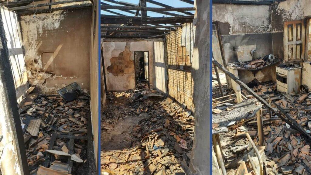 TRAGÉDIA! Família perde tudo após incêndio consumir casa na Vila Dulce. Você pode ajudar?