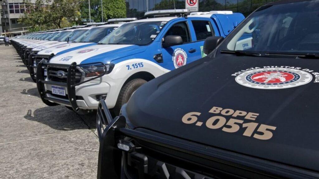 Governo da Bahia entrega 49 viaturas novas para a PM