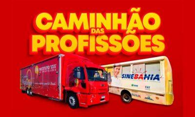 Caminhão das Profissões